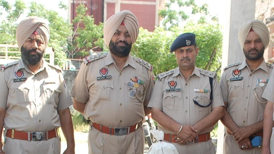 Punjab police,CIA inspector,drugs