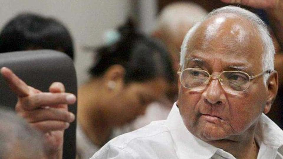 NCP chief Sharad Pawar also slammed the government for not conducting a survey for the Rs 46,000 crore project.