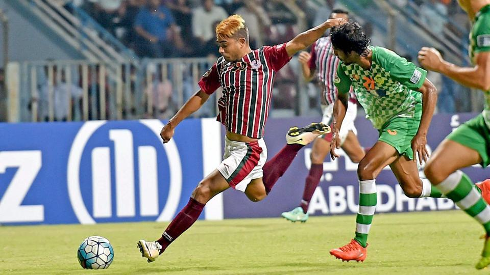 """The president of Indian football club Mohun Bagan has resigned over concerns of his """"deteriorating health""""."""