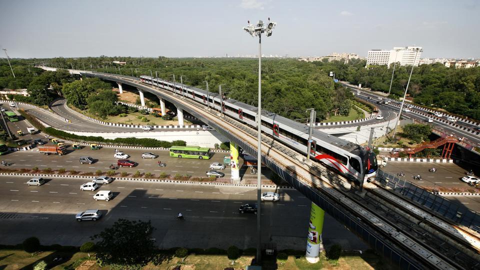 Delhi news,Delhi metro,Metro airport line