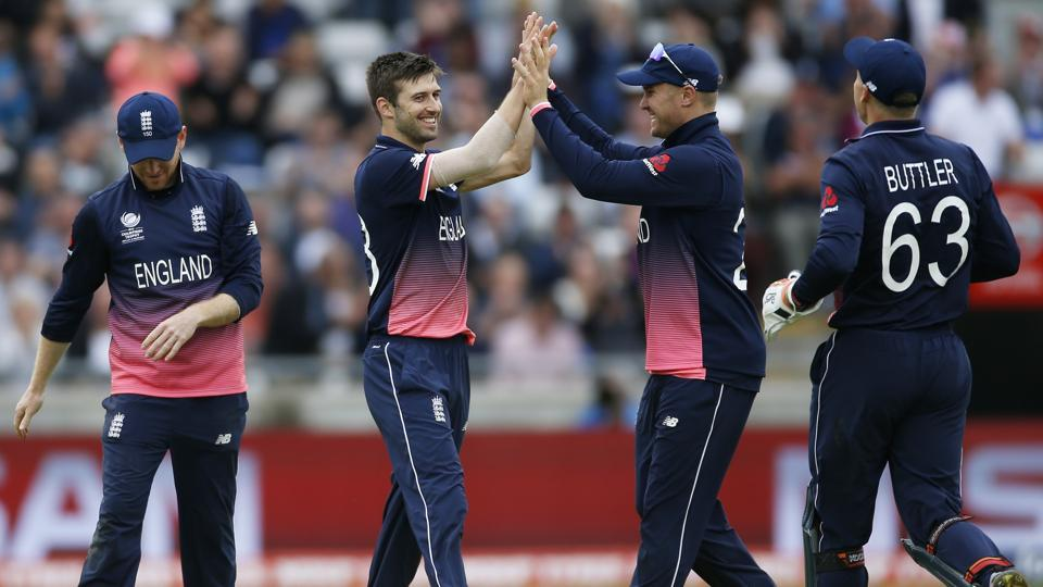 Hosts England will take on Pakistan in the first ICC Champions Trophy semi-final in Cardiff on Wednesday.