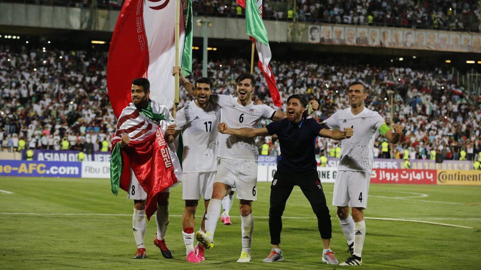 Iran national football team,2018 World Cup,Sardar Azmoun