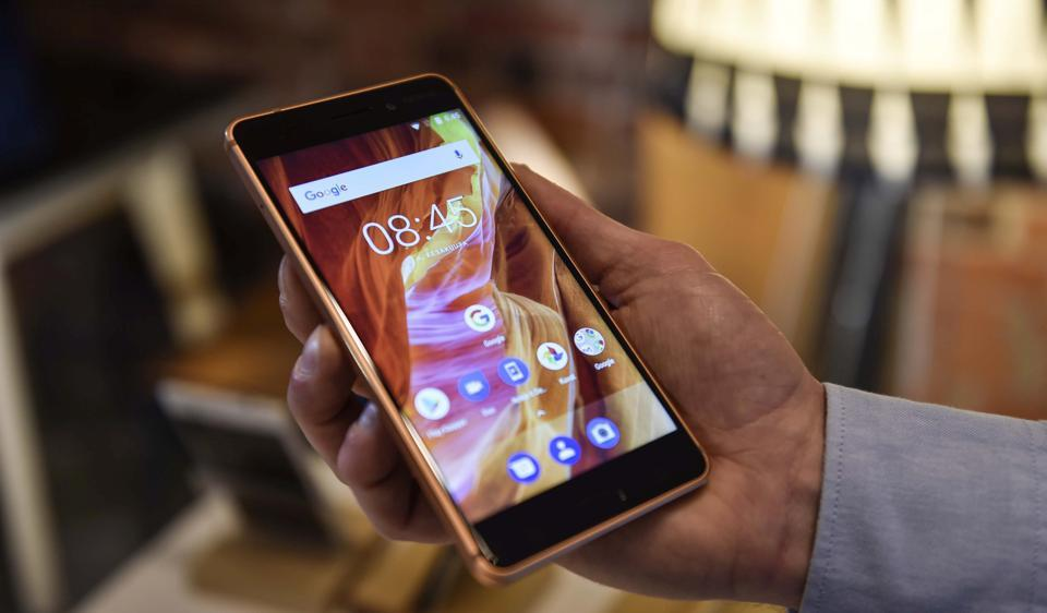 HMD Global presented their new flagship smartphone Nokia 6 at their press conference in Helsinki, Finland June 6, 2017.