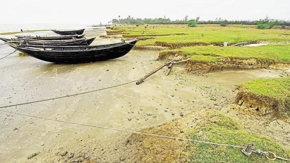 India and Bangladesh share a 4,096-km  border, a part of which falls in the Sunderbans.