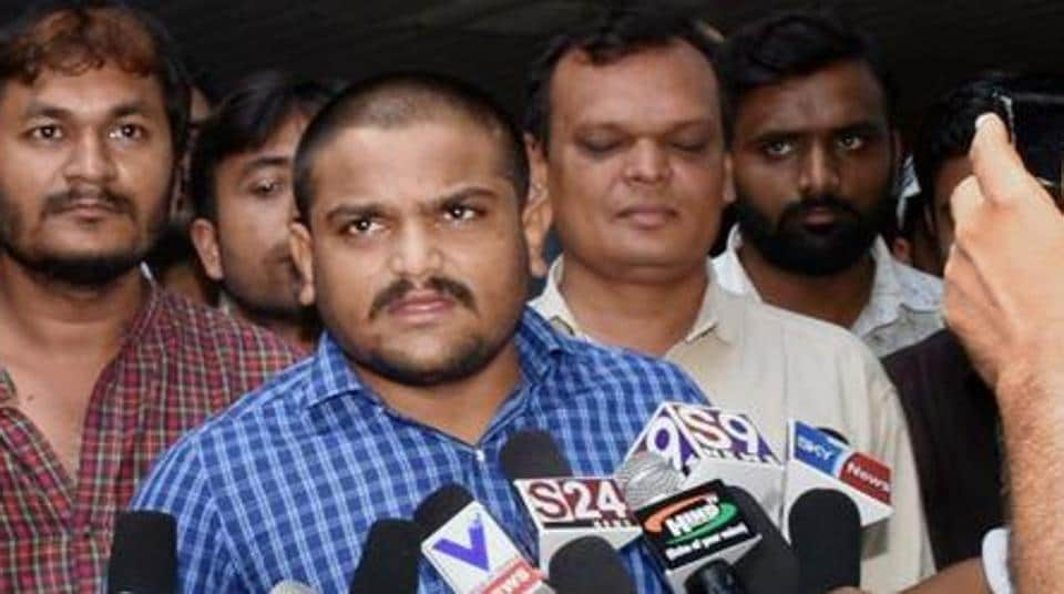 Hardik Patel was arrested on the way to Madhya Pradesh's Mandsaur district on June 13.