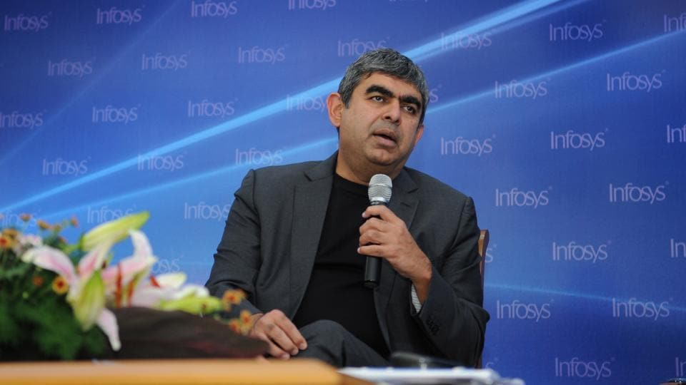 Vishal Sikka, CEO & MD of Infosys,met FM Arun Jaitley on Monday to discuss the new tax regime and the visa issues in the US.