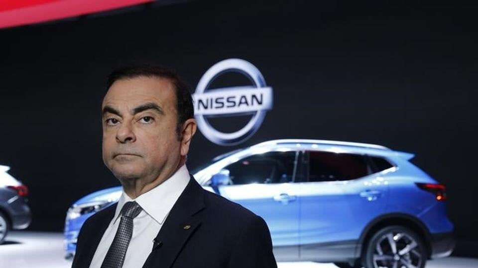 Brazilian-born Carlos Ghosn's combined 15.6 million euros in Renault-Nissan pay amounted to the third-biggest haul among French CAC 40 company bosses.