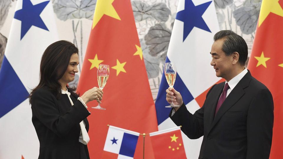 China,Taiwan,Panama
