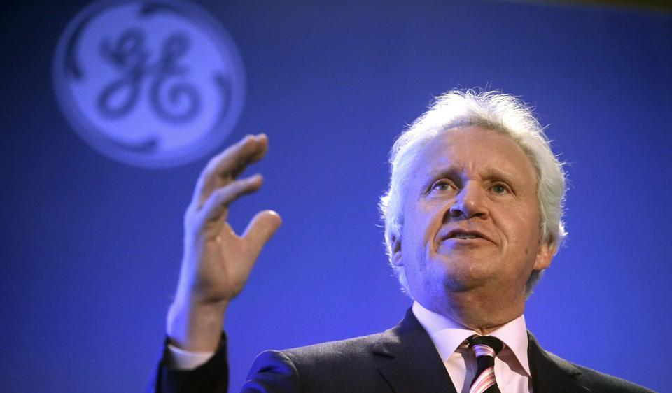 File photo of General Electric CEO Jeff Immelt, who took the helm in 2001 from legendary CEO Jack Welsh. John Flannery, president and CEO of the GE's health care unit, will take over as CEO in August 2017.