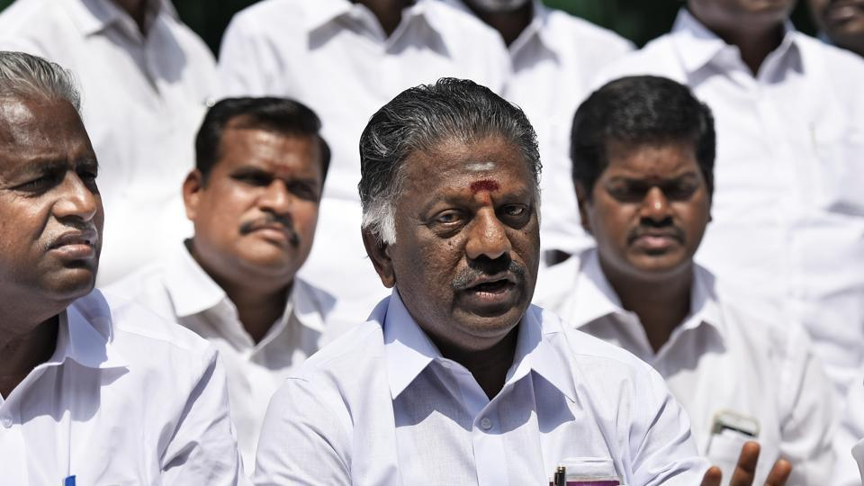 O Panneerselvam had revolted against VK Sasikala in February, alleging he was forced to make way for her elevation as Tamil Nadu CM.