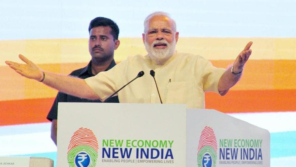 PM Modi,New India vision,Trump