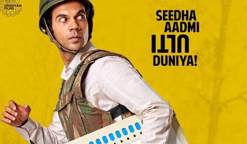 Rajkummar Rao plays the titular role in Newton.