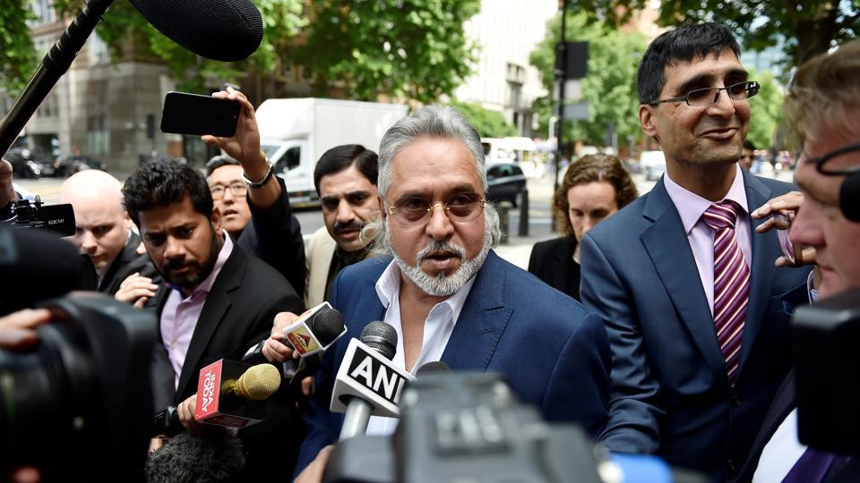 Politician Vijay Mallya arrives for an extradition hearing at Westminster Magistrates Court in London, Britain.