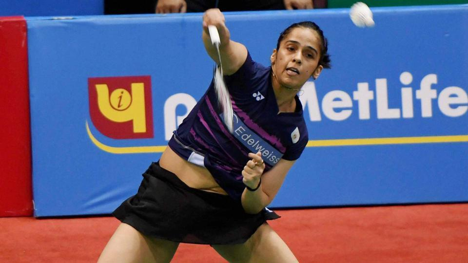 Saina Nehwal has progressed to the second round of Indonesia Open Superseries Premier.