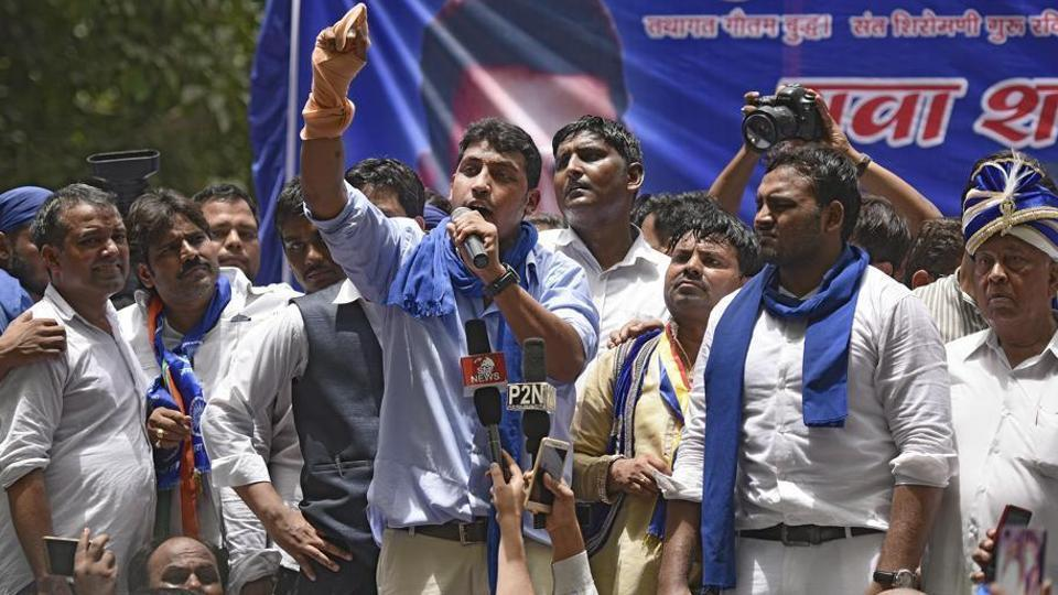 Bhim Army is demanding an independent judicial probe into the Saharanpur violence and is also seeking security for Chandrasekhar.