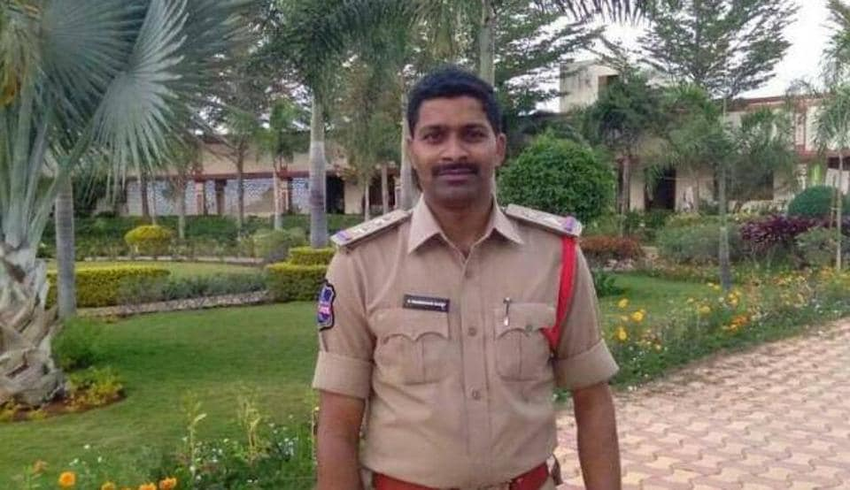 The family of sub inspector Prabhakar Reddy of Telangana Police who shot himself dead on Wednesday in Siddipet district has alleged that he was being harassed by higher officials.