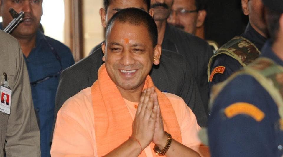 Yogi Adityanath,UP chief minister,Bihar visit