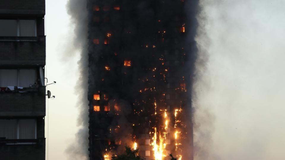 London is falling,Fire in London,Shivraj Chouhan
