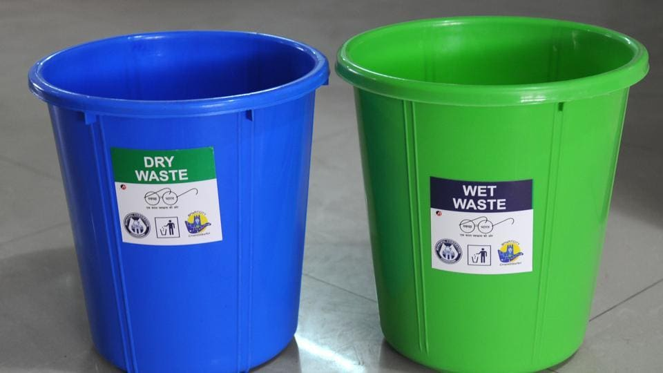 MC started process of distributing free dustbins to residents in two colours
