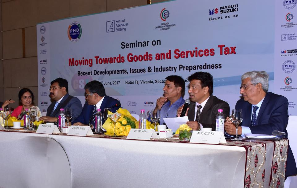 The seminar was titled, 'Moving towards goods and services tax: recent developments, issues and industry preparedness.'