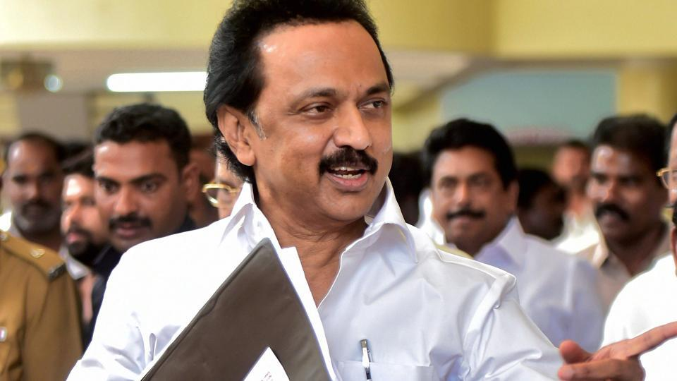"Speaker P Dhanpal orders eviction of DMK Working President M K Stalin from the assembly after party legislators  hold ""mock auction"" of MLAs  inside the house."