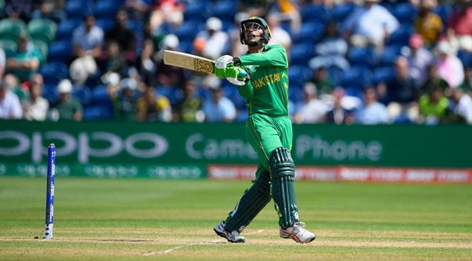 Fakhar completed a 49-ball fifty to follow his 50 against Sri Lanka. (Getty Images)
