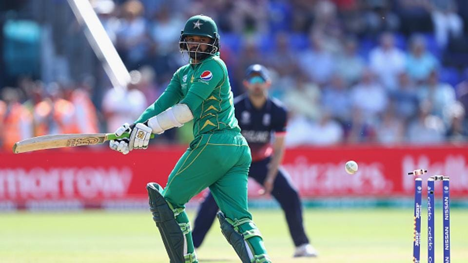 Morgan's men did avoid a 10-wicket defeat when Jos Buttler stumped Fakhar off leg-spinner Adil Rashid and Azhar too fell before the finish, pulling Jake Ball into his stumps. (Getty Images)