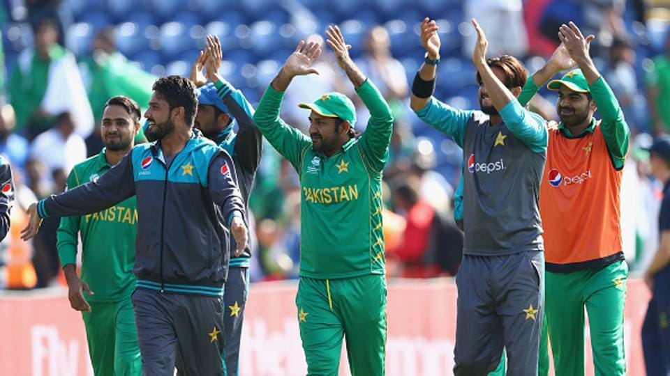 Pakistan will now face title-holders India in Sunday's final at The Oval if their arch-rivals beat Bangladesh in Thursday's second semi-final at Edgbaston.  (Getty Images)