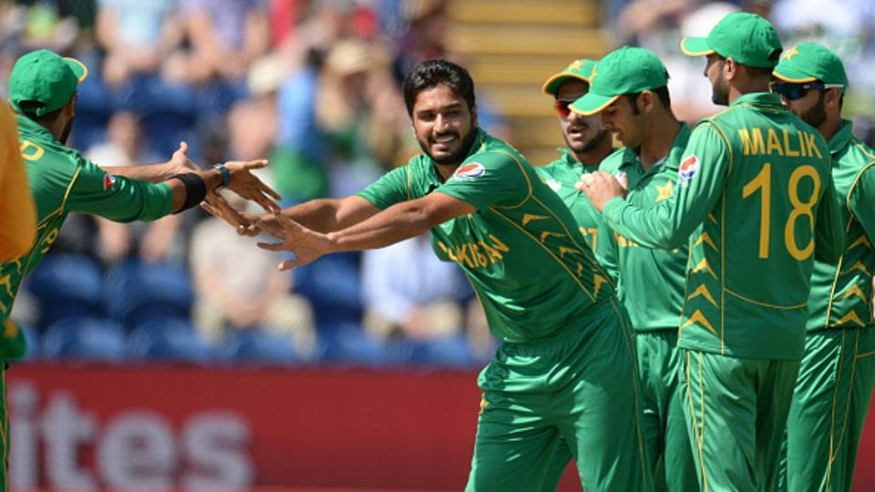 Rumman Raees, who replaced the injured Mohammad Amir, got rid of Alex Hales inside the Powerplay.  (Getty Images)