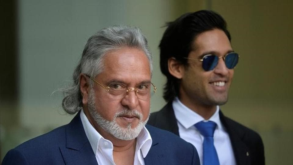 Vijay Mallya leaves after an extradition hearing at Westminster Magistrates Court, in central London.