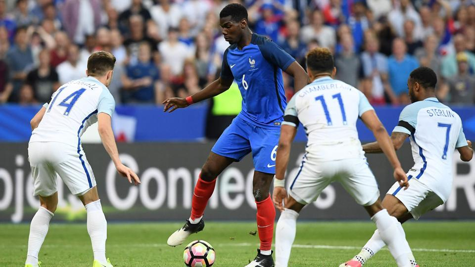 France got the best of England thanks to an injury time winner despite being down to 10 men.