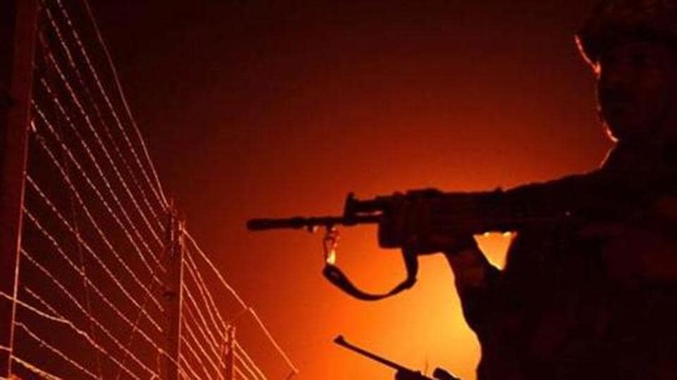 Pakistan shelling and firing started again at 8.45 pm. The Indian Army are retaliating strongly and effectively.
