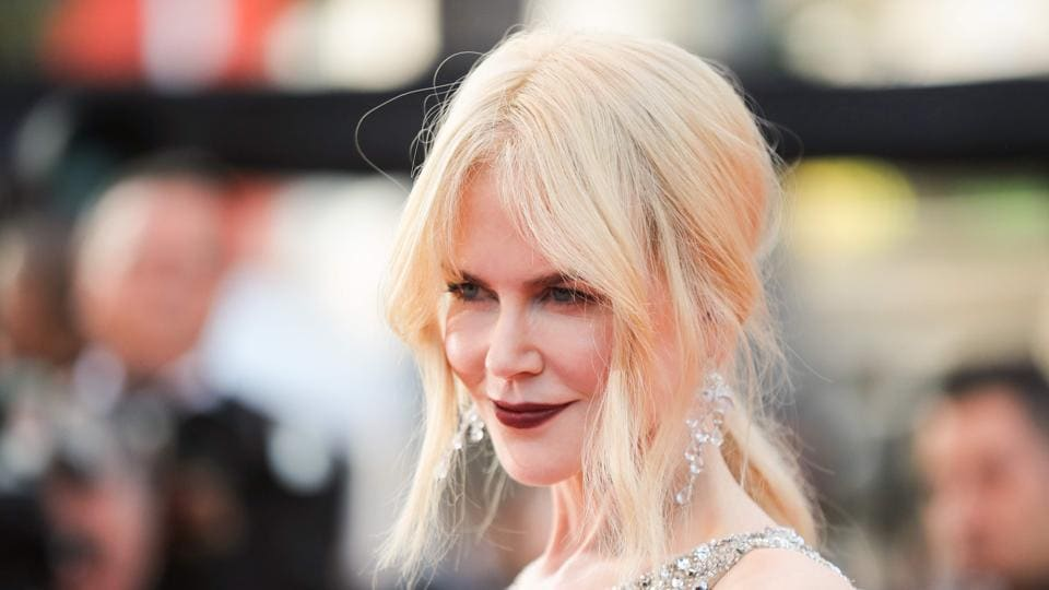 Nicole Kidman arrives for the screening of the film The Beguiled at the 70th edition of the Cannes Film Festival.