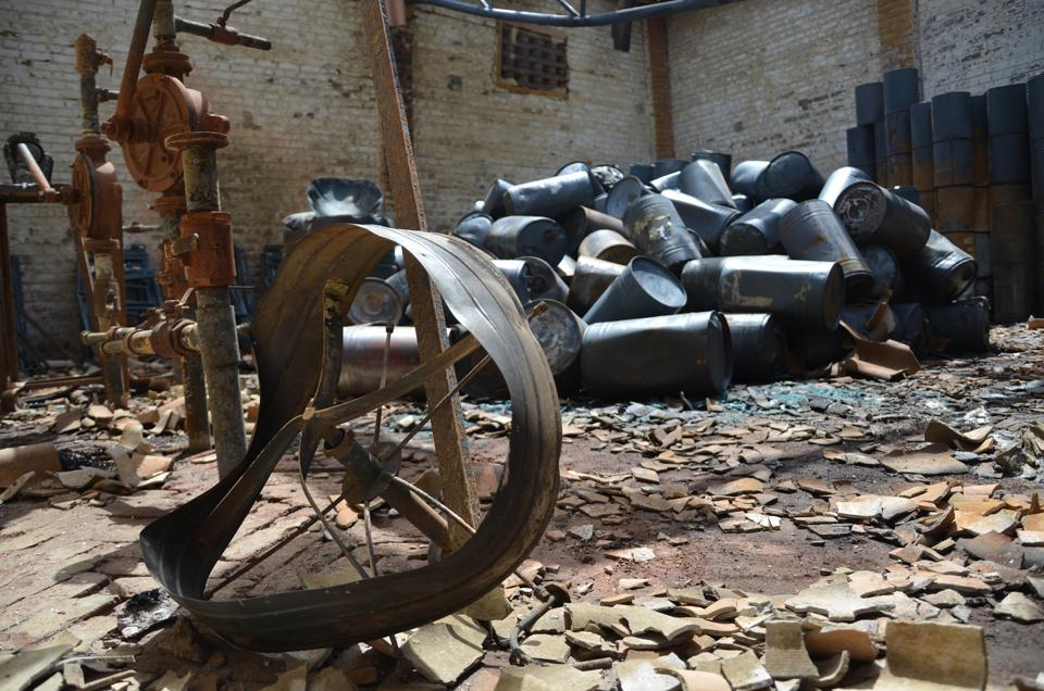 A 38-year-old worker died after he sustained severe burn injuries following an explosion at a paint manufacturing unit in Kavi Nagar, Ghaziabad, on Wednesday.