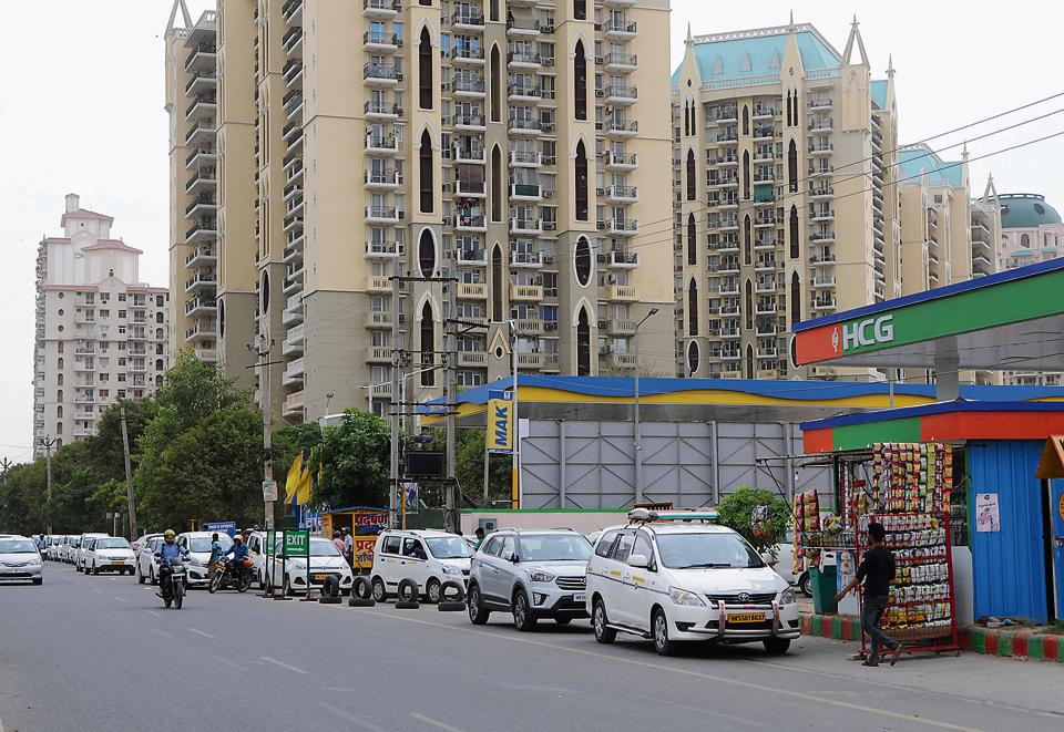 CNG stations,Gurgaon,Haryana City Gas Distribution Limited