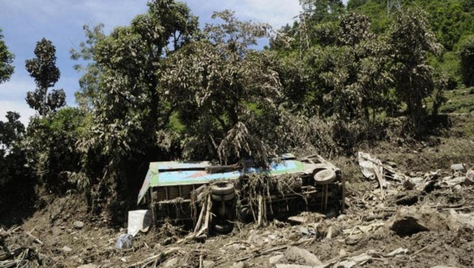 Himachal Pradesh,Dharamshala,Bus accident