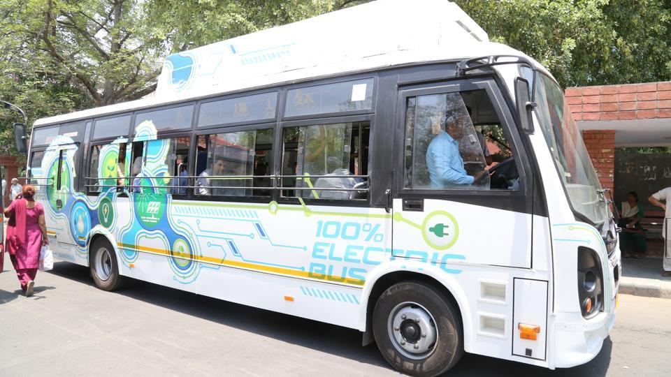 The electric bus, with a seating capacity of 26 passengers, was operated without passengers as it did not have the permit to carry passengers.