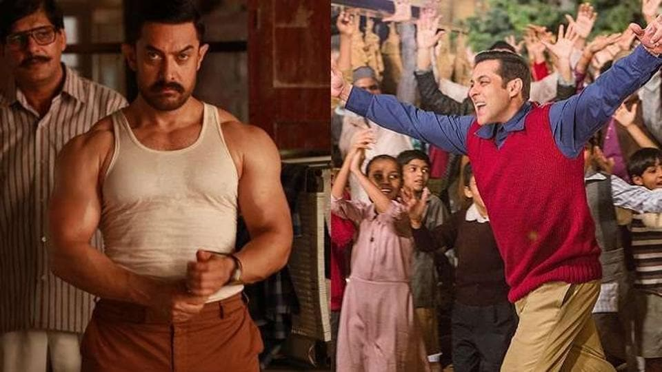 Salman will be eyeing to break Dangal's box-office record with Tubelight.
