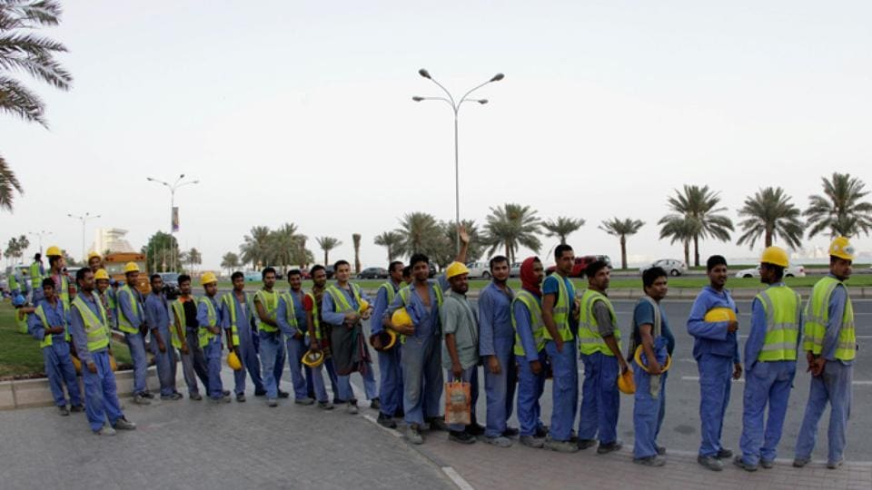 """Concerns are growing about job security and the lack of much-needed overtime as economic uncertainty grows, due to what Doha has labelled the """"blockade"""" imposed by neighbouring countries."""