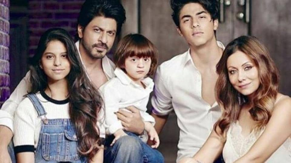 Actor Shah Rukh Khan often posts pictures with his family on Instagram.