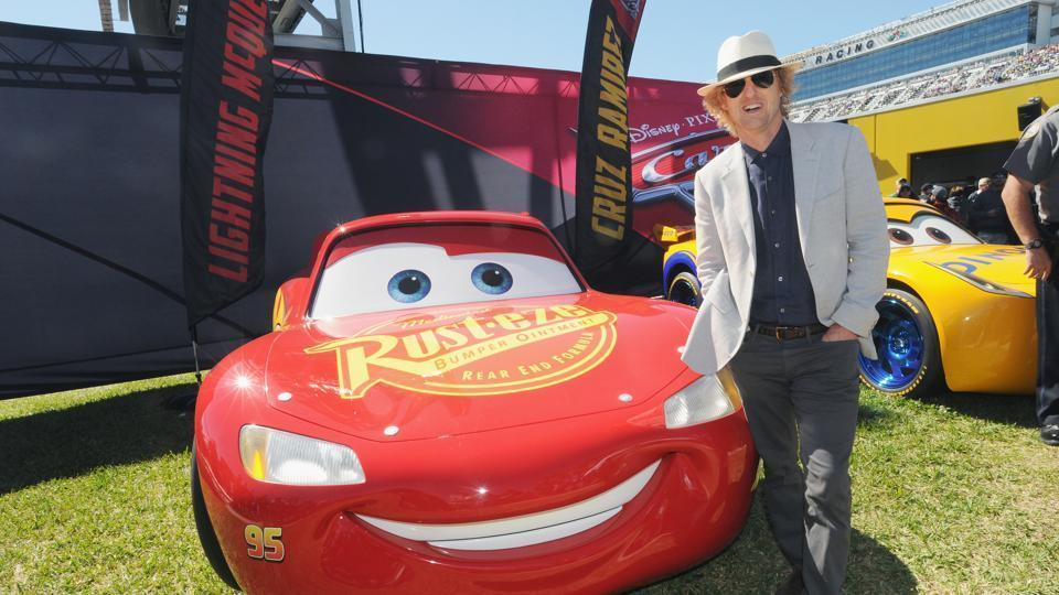 Owen Wilson will return as Lightning McQueen for the third instalment of Cars.  sc 1 st  Hindustan Times & Hereu0027s how Owen Wilson became Lightning McQueen in animated film ...