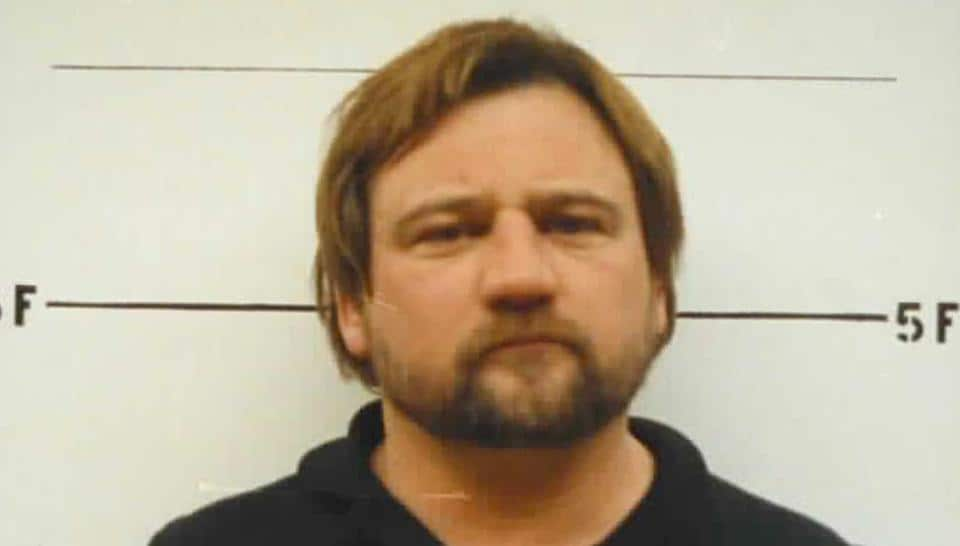 This 1992 photo provided by the St. Clair County. Ill., Sheriff's Department shows James T. Hodgkinson.