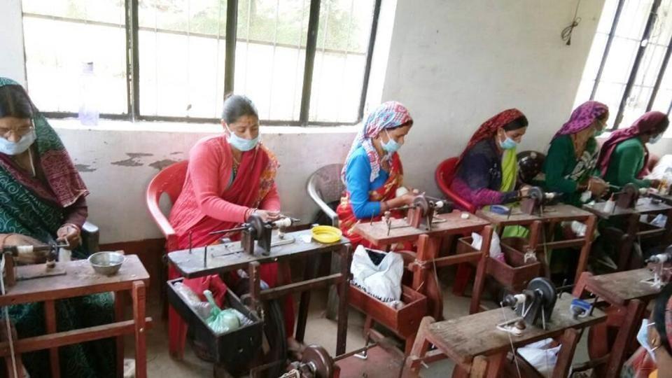 Uttarakhand,Mandakini Mahila Bunkar Samiti,women