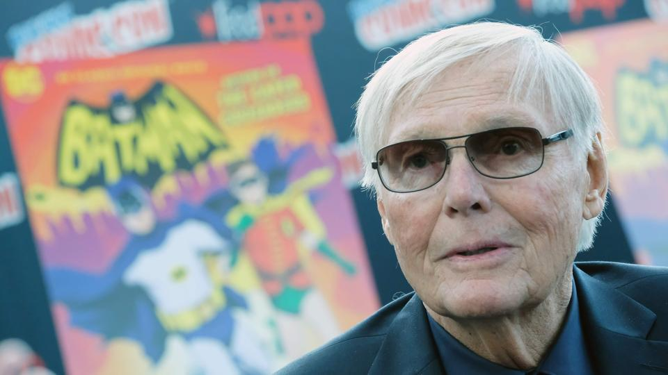 This file photo taken on October 5, 2016 shows Adam West attending a Batman: Return of the Caped Crusaders event in New York.