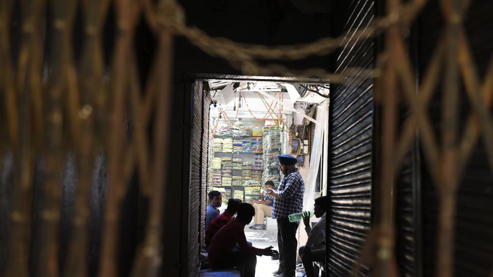 GST,Old Delhi,Shops shut