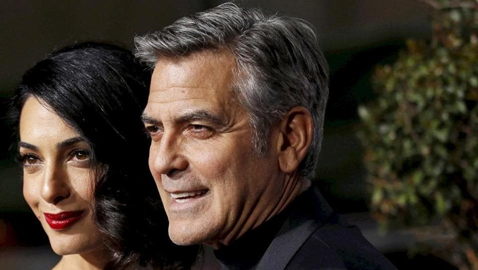 George Clooney and his wife Amal became parents in June 2017.