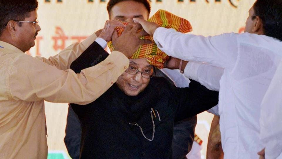 President Pranab Mukherjee's tenure will end in July.