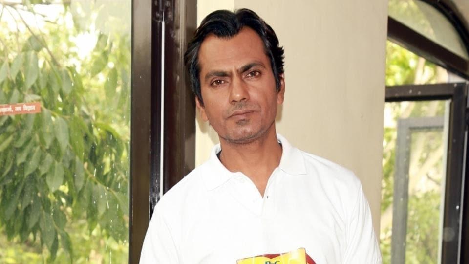 Actor Nawazuddin Siddiqui during  the P&G Shiksha programme in New Delhi.
