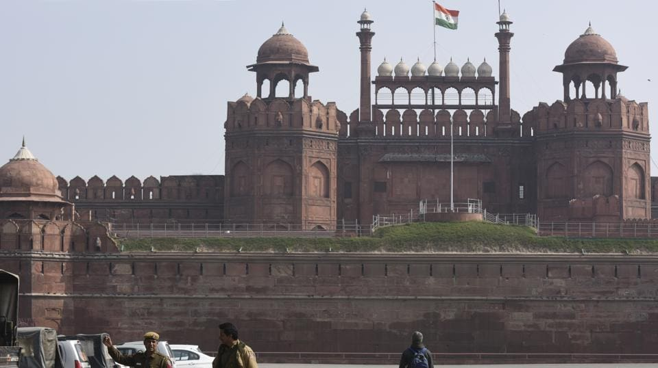 The Mughal era  Red Fort, located in New Delhi, was shown as Lahore's Shalimar Gardens in an event at the SCO meet in Astana.