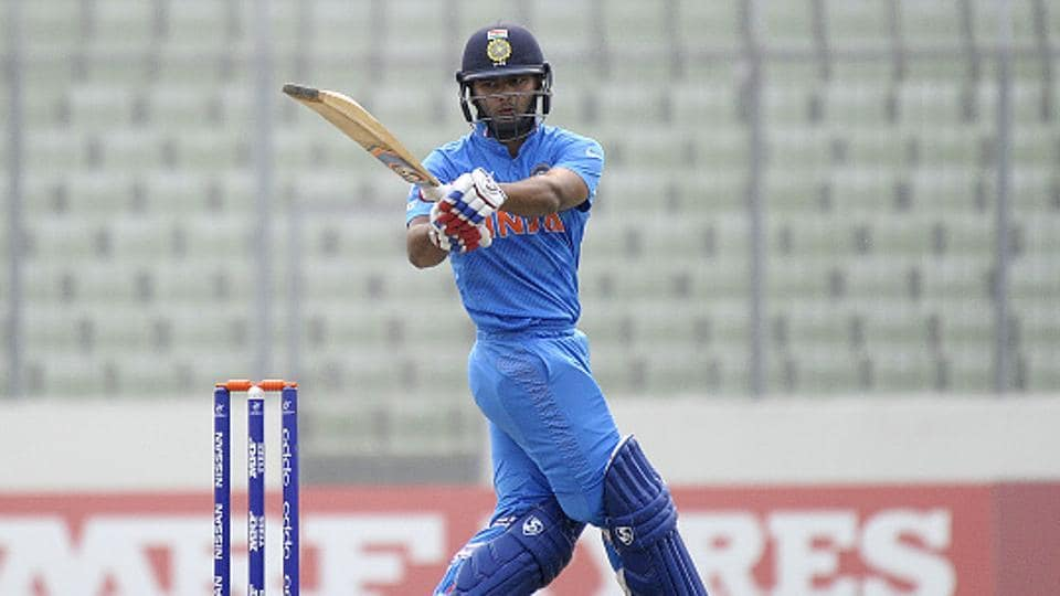 Rishabh Pant made his international debut against England earlier this year.